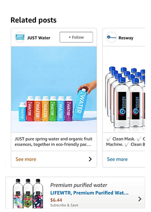 Example of a Post on the product detail page-1