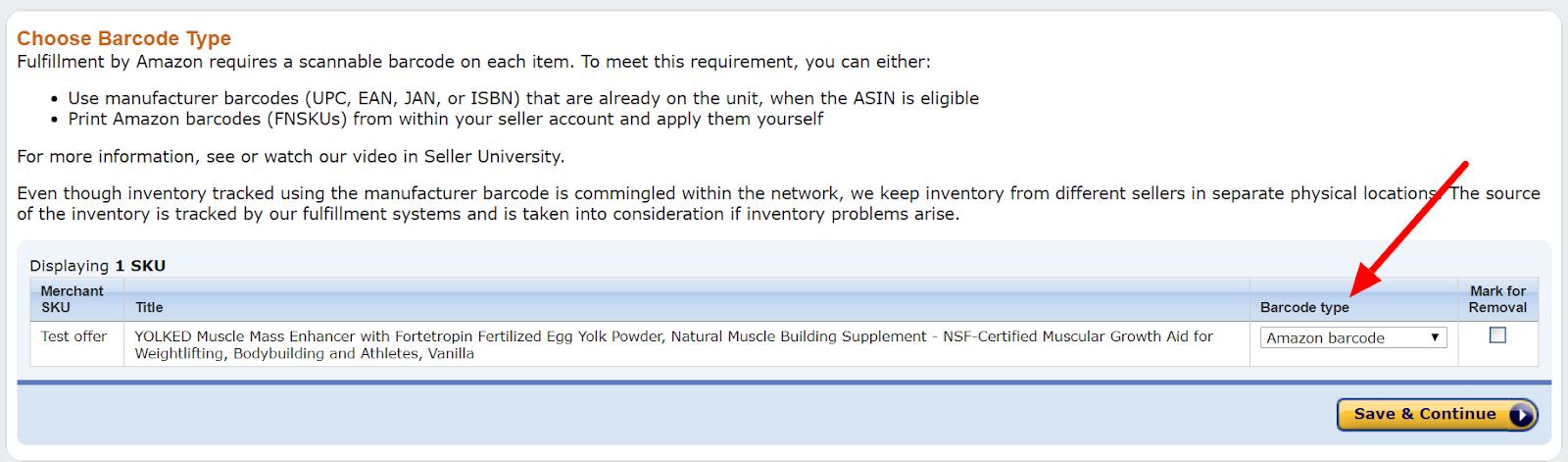 Seller Central - Send Inventory To Amazon - Amazon