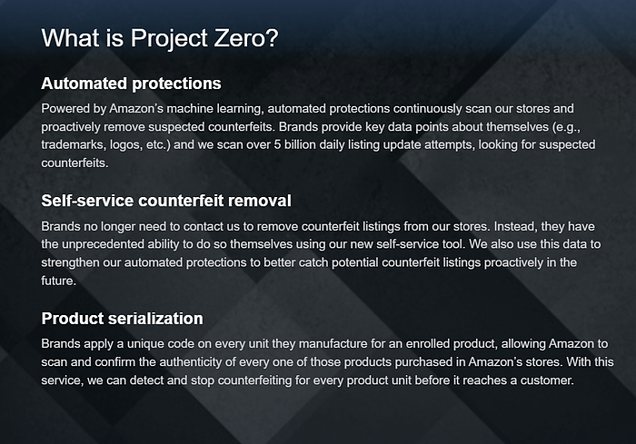 What is project zero--