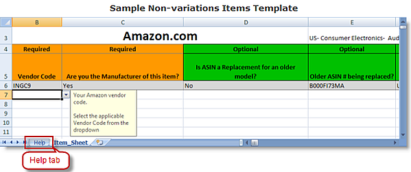 sample non-variations