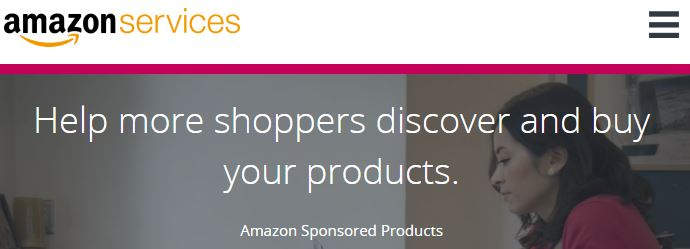 Above: Amazon Services Sponsored Products Page